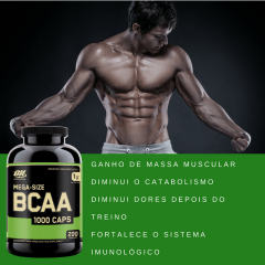 BCAA ON 200 CAPS